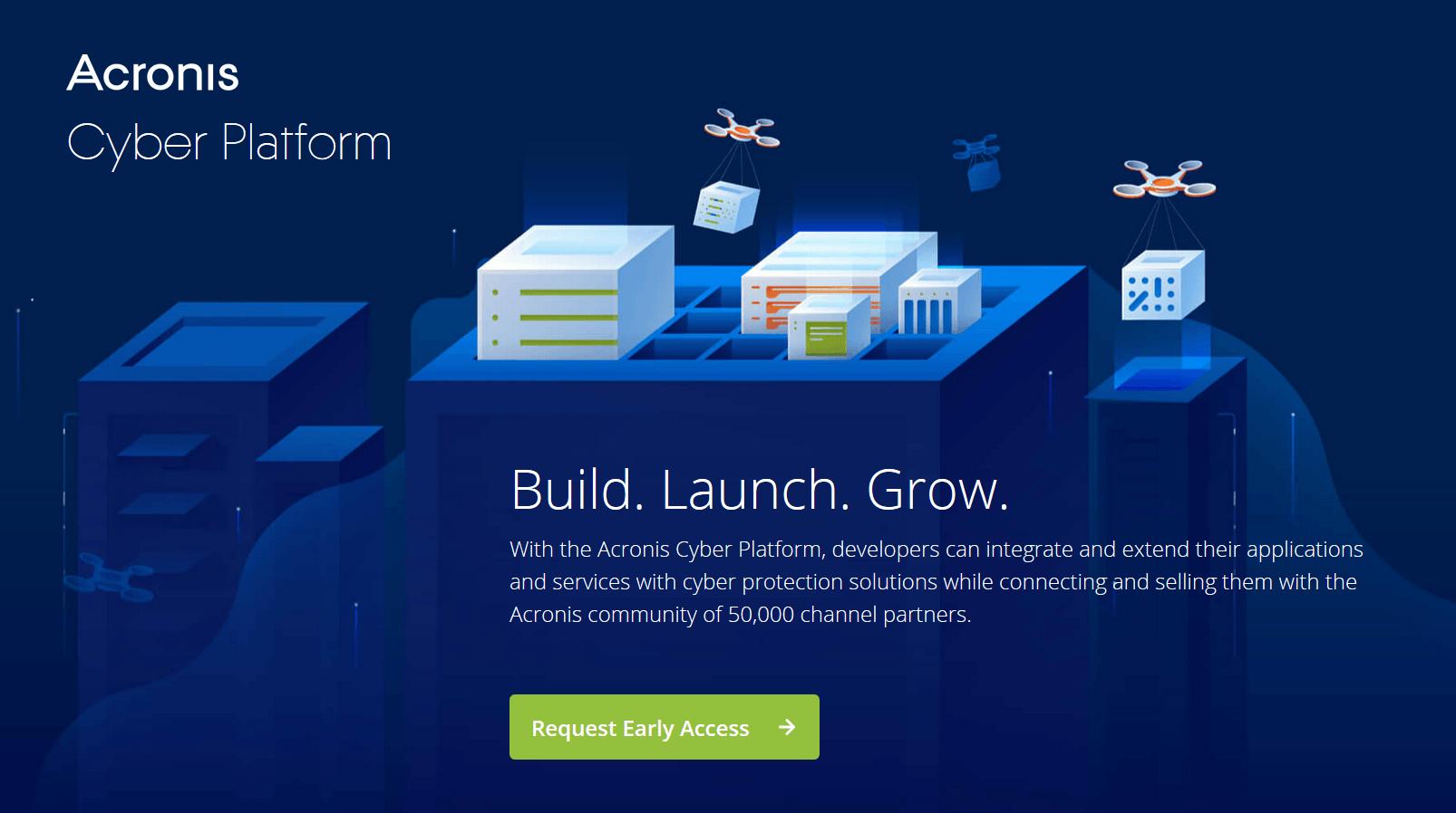 acronis cyber platform